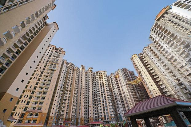 High-rises in India's large cities are marketed to millionaires, whose numbers have been steadily growing. Photo: Ramesh Pathania/Mint