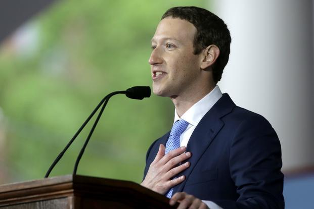 This will be Mark Zuckerberg's second court appearance this year. Photo: AP