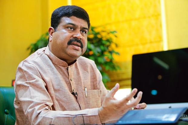 Union oil minister Dharmendra Pradhan. Photo: Mint