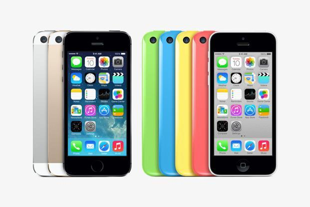 iPhone 5S and iPhone 5C (2013)