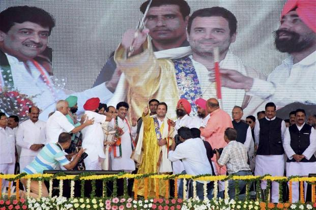 In US, Rahul Gandhi goofs up over number of Lok Sabha seats