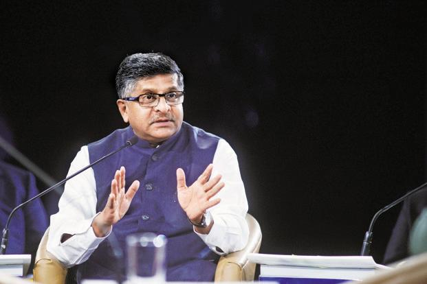 Image result for India's data protection law will set global benchmark: Prasad