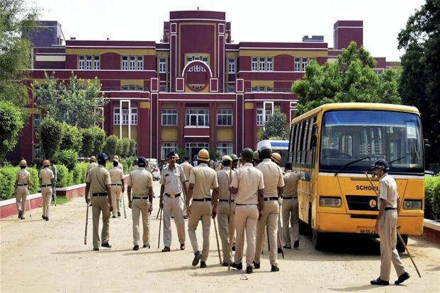 A Class II student of Ryan International School was on Friday allegedly killed by a bus conductor who also tried to sexually abuse the minor. Photo: PTI
