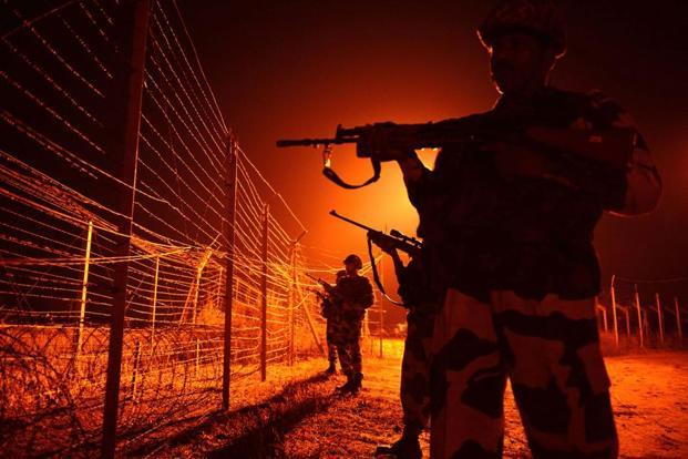 'India's Most Fearless: True Stories of Modern Military Heroes', a book on Indian Army's surgical strikes in PoK, was released on the first anniversary of the operation. Photo: AFP