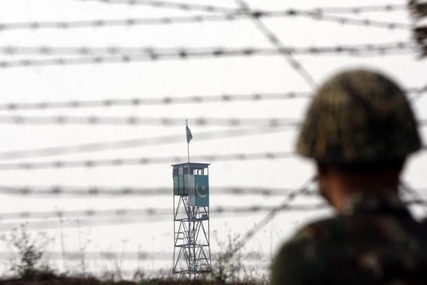 Pakistan forces have carried out 301 incidents of unprovoked ceasefire violations along the LoC this year, according to the ministry of external affairs. Photo: Hindustan Times