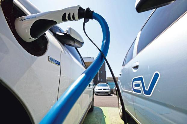China's auto industry plan released in April envisages new energy vehicles, including electric and hybrids, making up all the future sales growth in the country. Photo: Bloomberg