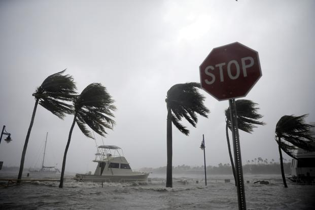 Hurricane Irma to pound Florida peninsula through the night