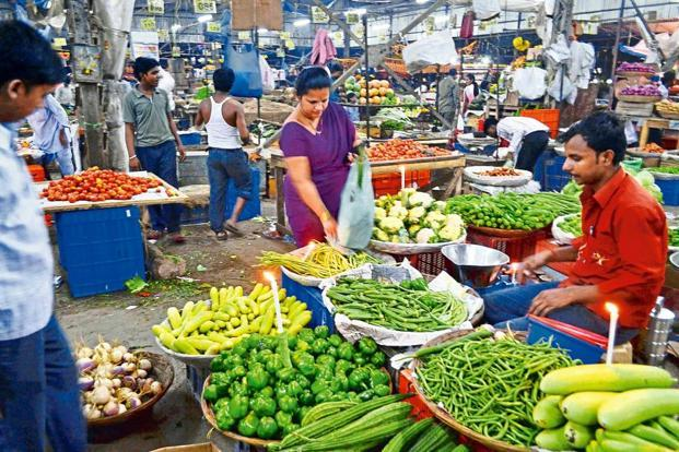 Food and beverage inflation, which accounts for nearly 50% of the consumer price index basket is expected to have rebounded in August after prices fell in the three previous months, according to a Reuters poll. Photo: Mint