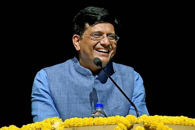 New railway minister Piyush Goyal. The foundation stone for the Ahmedabad-Mumbai bullet train will be laid by Japanese PM Shinzo Abe during his India visit. Photo: PTI