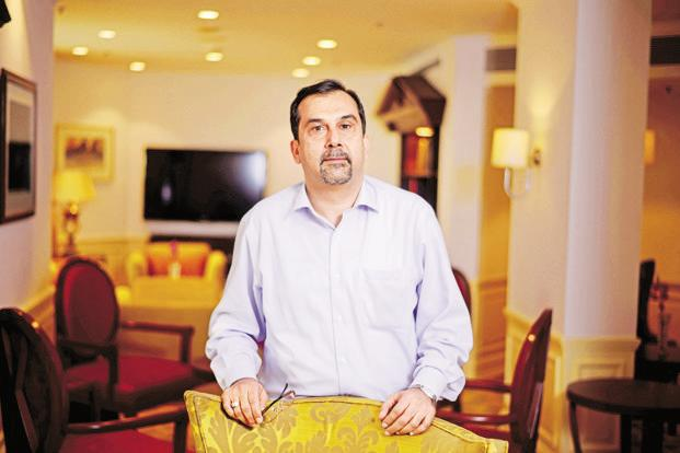 ITC CEO Sanjiv Puri. The The 'Create the new ITC' strategy is part of the Kolkata-based company's plan to reach Rs1 trillion in revenue from its non-cigarette packaged goods business by 2030. Photo: Pradeep Gaur/Mint