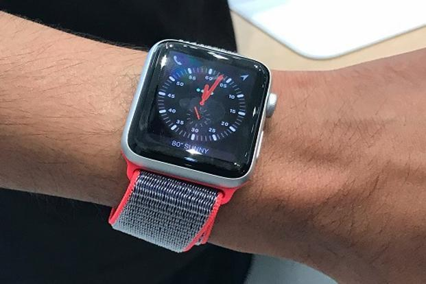 Apple will be rolling out the Watch Series 3 in India with prices starting at Rs29,900. Photo: Vishal Mathur/Mint