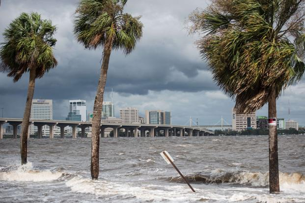 Florida escaped the worst because Hurricane Irma's powerful eye shifted westward, away from the biggest population center of sprawling Miami-Dade County. Photo: AFP