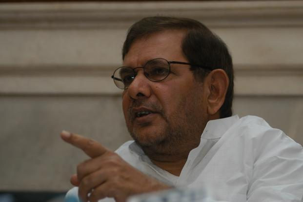 U co-founder Sharad Yadav in a fix after EC ruling