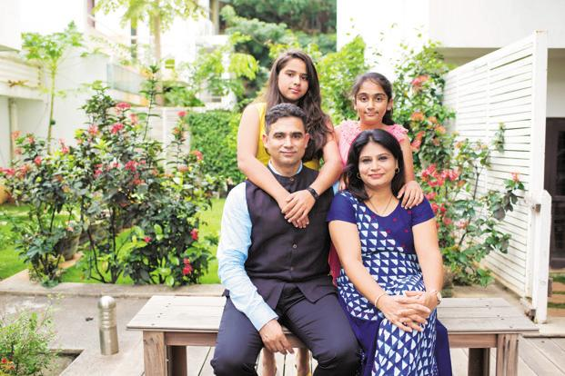 Vandana (seated right) and Ankur Mehrotra became more financially responsible since they had to ensure business continuity and earnings; Photo: Abhishek BA/Mint