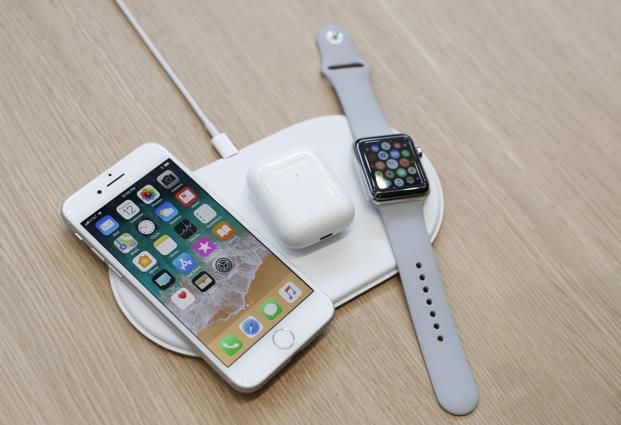 apple iphones finally get wireless charging but no. Black Bedroom Furniture Sets. Home Design Ideas