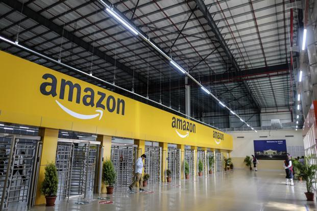 Amazon's fashion studio serves as an extension to the company's imaging and cataloguing services. Photo: Bloomberg