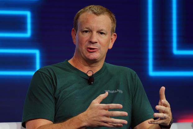 A file photo of WhatsApp co-founder Brian Acton. Photo: Reuters