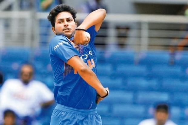 Kuldeep Yadav took three wickets in two matches in Sri Lanka. Photo: AP