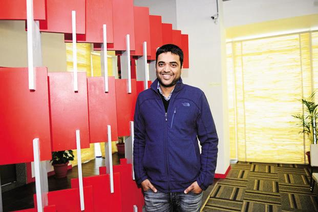 Zomato founder and CEO Deepinder Goyal. The Runnr acquisition is expected to bolster Zomato's food delivery capabilities and help the start-up build a captive fleet of delivery personnel—a model very similar to Swiggy's. Photo: Ramesh Pathania/Mint