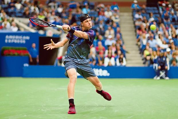 Denis Shapovalov lost in the round of 16 at the US Open. Photo: AFP