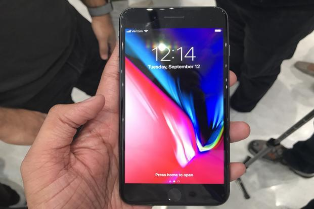 The Apple iPhone 8 and iPhone 8 Plus will launch in India on 29 September with prices starting at Rs64,000. Photo: Vishal Mathur/Mint
