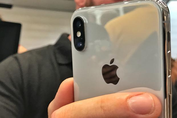 The iPhone X has a design that immediately stands apart from the iPhone 8 and the iPhone 8 Plus. Photo: Vishal Mathur/Mint