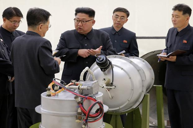 Pyongyang conducted its sixth and largest nuclear test last week—saying it was a hydrogen bomb that could be fitted into a missile. Photo: AP