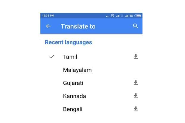Users can now use the offline translation feature in Indian languages like Hindi, Bengali, Gujarati, Kannada, Marathi, Tamil, Telugu, and Urdu.