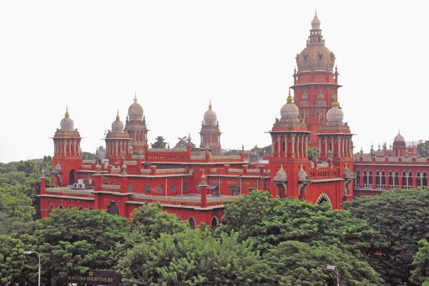 The Madras HC had adjourned a plea filed by 21 DMK MLAs challenging the assembly privilege committee's notice to 12 October. Photo: Wikimedia Commons