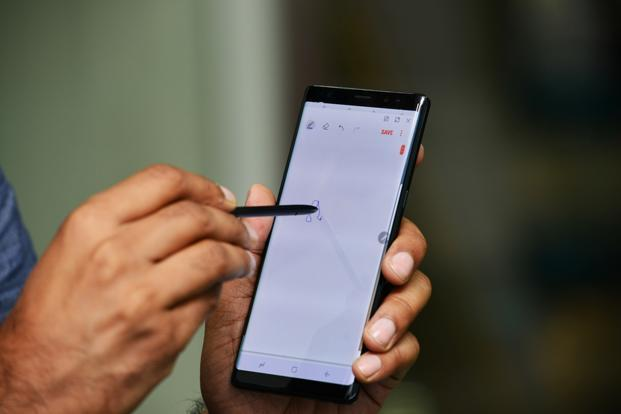 Samsung claims the S-Pen used in Galaxy Note 8 is a lot more advanced.