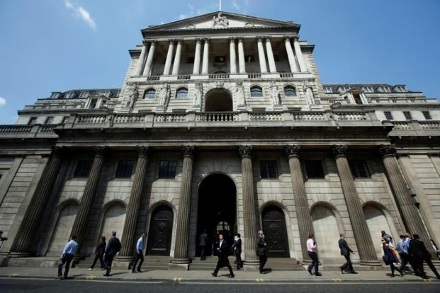 Bank of England officials voted 7-2 to keep rates on hold at a record-low 0.25%. Photo: Reuters