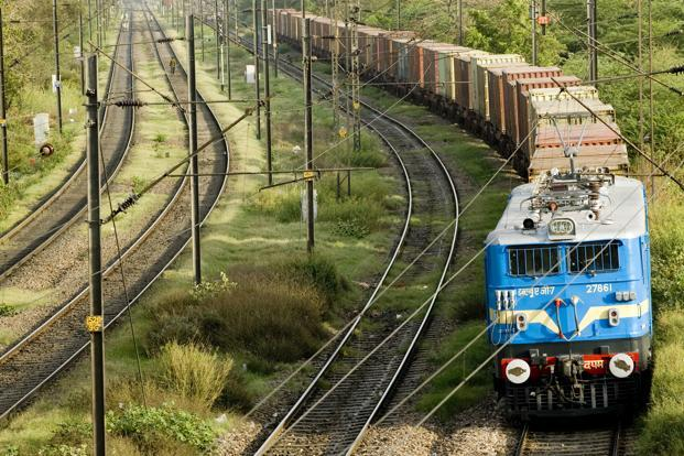 The Indian Railways freight traffic data also indicates a rebound in trade, though it is helped by a favourable base. Photo: Ramesh Pathania/Mint