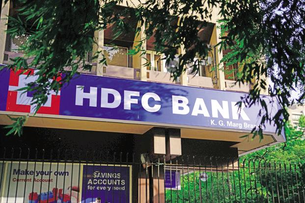 Shares of HDFC Bank Ltd ended flat at Rs1,843.20, up 0.03% on BSE, while TCS fell by 0.12% to close at Rs2,485.05. Photo: Mint