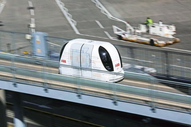 The three cities may see the first rapid transport systems using pod cars being built by US space agency Nasa's SkyTran and UK's Ultra Global PRT. Photo: Bloomberg