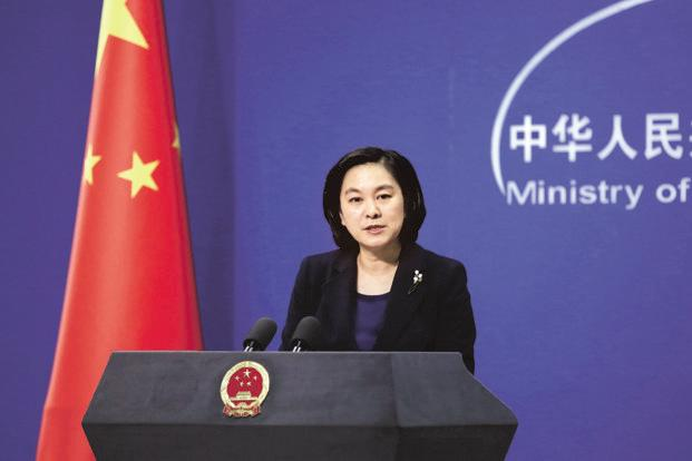 "Chinese Foreign Ministry spokesperson Hua Chunying said there was no mention of China anywhere in the India-Japan joint statement nor she has seen any ""innuendoes"" referred to Beijing as stated by the media. Photo: Reuters"