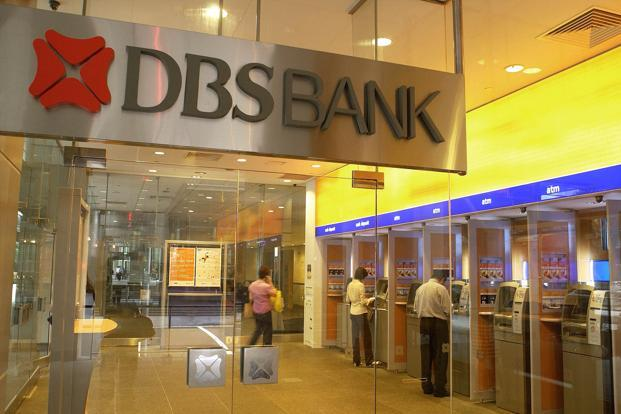 A file photo of DBS Bank. Photo: Bloomberg