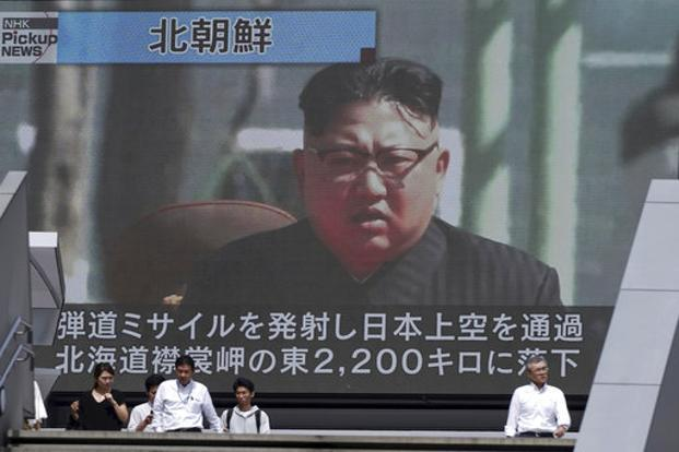 The launch, from near Pyongyang, came after the UN Security Council imposed an eighth set of sanctions on the country. Photo: AP
