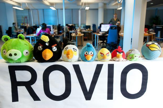 The price range would give Rovio a market value of between €802 million and €896 million. Photo: Bloomberg