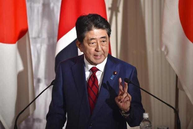 Japanese Prime Minister Shinzo Abe appears increasingly inclined to call an election amid a recovery in public support following a spate of scandals. Photo: AFP