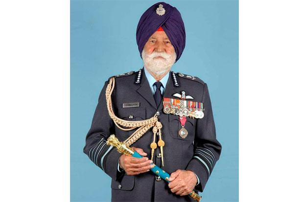 Known as a man of few words, Air Force Marshal Arjan Singh was not only a fearless pilot but had profound knowledge about air power and applied it in a wide spectrum of areas. Photo: PTI