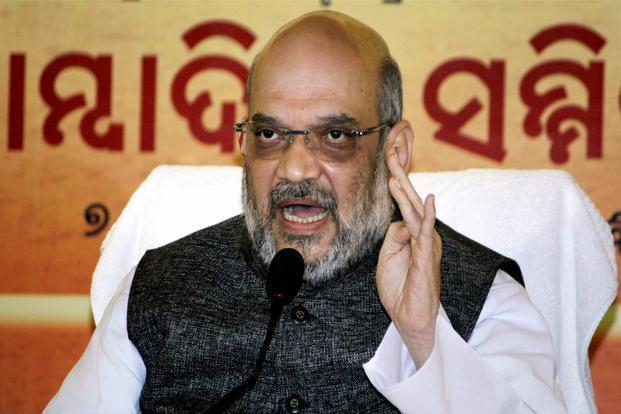 Lavishing praise on Narendra Modi on his 67th birthday, Amit Shah said the PM's life in many ways was a 'personification of the spirit of India'. Photo: PTI