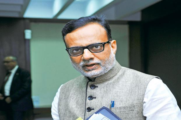 Revenue secretary Hasmukh Adhia says people have to file their own self-assessed summary return till December, and there will not be any extension of time as far as GSTR-3B is concerned. Photo: S. Kumar/Mint
