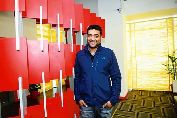 Zomato CEO Deepinder Goyal. Sales at Zomato jumped 80% to $49 million in year ended March 2017, helped by growth in the advertising and food delivery business. Photo: Mint