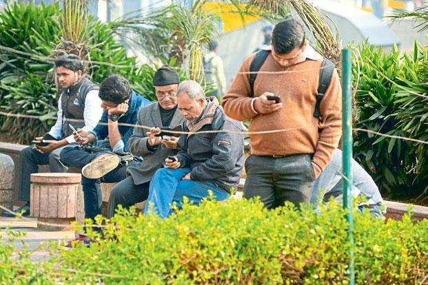 So far, the internet shutdowns have been met with little opposition, apart from frustration expressed by users over the curtailing of online services. Photo: Ramesh Pathania/Mint