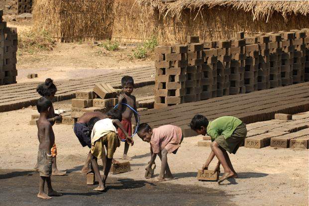 One in four slaves was a child with modern slavery most prevalent in Africa followed by Asia and Pacific, the report said. Photo: Mint