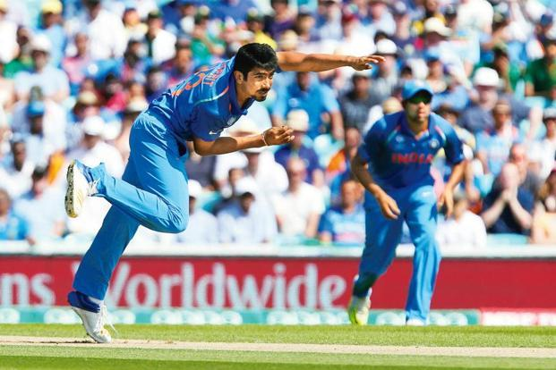 Jasprit Bumrah already has 42 wickets from the 22 ODIs he has played so far. Photo: AP.