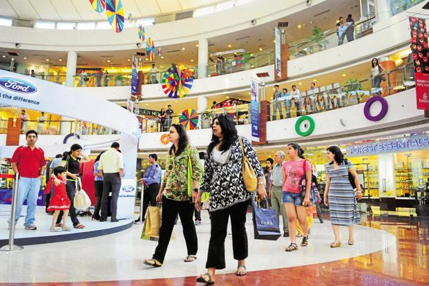 mall growth slows as builders avoid retail sector livemint