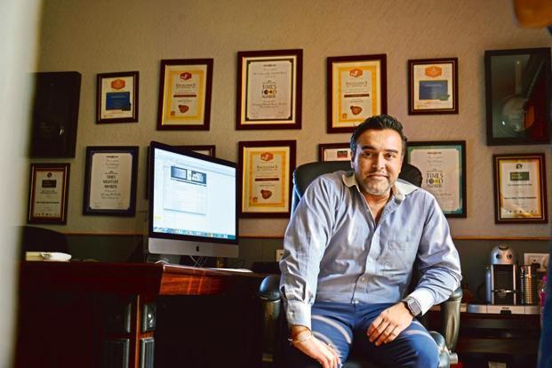 Massive Restaurants co-founder Zorawar Kalra. Massive Restaurants runs Masala Library, Made in Punjab, Farzi Café, Pa Pa Ya and MasalaBar. Photo: Mint