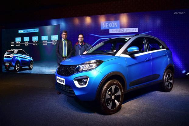 Tata Motors Ltd launched its first compact SUV, Nexon, on Thursday, which marked the start of the Navratras. Photo: PTI