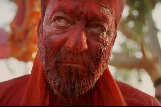 Sanjay Dutt in a still from 'Bhoomi'.
